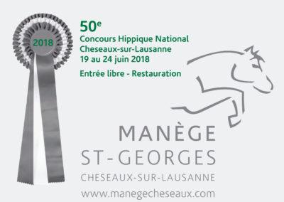 Concours hippique de Cheseaux 2018