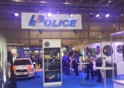 Stand de la Police Genevoise – Cité des Métiers 2018